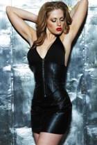Leather & Lycra Bustier