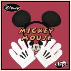DISNEY ミッキーマウス ヘッドバンド & グローブセット byElope