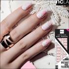 【ncLA/エヌシーエルエー】ネイルシール/ネイルラップ/爪に貼るだけで/ネイルアート(花柄/フラワー/ピンク)