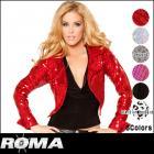 ジャケット/豪華きらきらスパンコールジャケット〔全6色〕(単品)【ローマコスチューム/Roma Costume】
