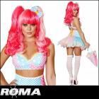 【Roma costume/ローマ コスチューム】レインボー/フェアリー/妖精/コスチューム/ロリータ/3点セット