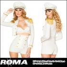 セイラー/セーラー/水兵/海軍/船長/ サルティセイラーベイブコスチューム3点セット 【ローマコスチューム/Roma Costume】