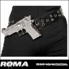 警察/ポリス/コップ ラインストーン銃付きベルト 【ローマコスチューム/Roma Costume】