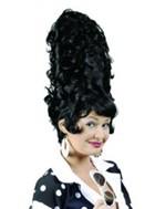 ウィッグ/カツラ/コスチュームウィッグ/仮装/変装/コスプレ/貴族系CGビーハイブウィッグ(ブラック)【ウィキッドウィッグ/Wicked Wig】