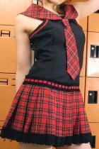 ロマンティックが止まらない★ロリワンピセーラー学生服2点セット
