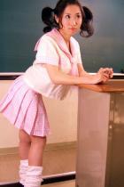 清純派女子高生★3点セット★ギンガムチェックセーラーブラウス学生服