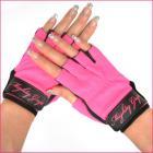★・:ポールダンス、ピラティスなどに最適:・★ フィンガーレスグローブ(裏地合皮タイプ) ピンク