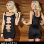 【Coquette/コケット】ドレス/切り抜きがセクシーな大人ドレス(単品)
