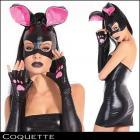 カッコイイバニー☆バニーのマスクとグローブ2点セット【コケット/Coquette】マスク/コスプレ
