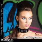 ウェットルック ガーター&チョーカー by ダーク (Darque)