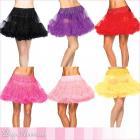 <全9色>レイヤードチュールペチコート/チュチュ/ランジェリースカート/コスチュームスカート