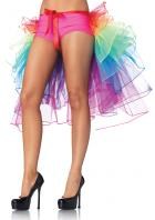 虹色ふんわりレイヤードバッスルスカート【レッグアベニューレイブウェア/Leg Avenue Rave Wear】