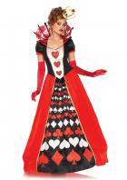 本格的なハートの女王風コスチューム☆(2点セット)【LegAvenue/レッグアベニュー】コスチューム/ハロウィン