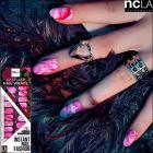 【ncLA/エヌシーエルエー】ネイルシール/ネイルラップ/爪に貼るだけで/ネイルアート(フラミング/ピンク)