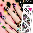 ネイルシール/ネイルラップ/爪に貼るだけで簡単に本格的ネイルアートが楽しめるネイルシール(レオパード)【ncLA/エヌシーエルエー】