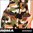 ミリタリーバレットウェストベルト 【ローマコスチューム/Roma Costume】 ミリタリー/軍服/アーミー/迷彩