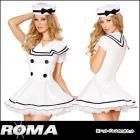 セイラー/セーラー/水兵/海軍/船長/ セクシーセイラーメイデンコスチューム2点セット 【ローマコスチューム/Roma Costume】