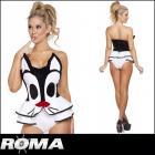 【Roma costume/ローマ コスチューム】シルベスター/コスプレ/アメコミ/ストラップロンパース