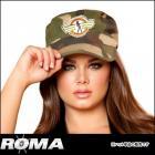 カモフラージュ アーミーハット 【ローマコスチューム/Roma Costume】 ミリタリー/軍服/アーミー/迷彩