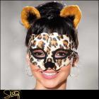セクシーアニマルコス☆豹のマスクとヘッドバンド2点セット【シャーリー/Shirley】マスク/コスプレ