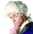 中世ウィッグ/中世貴族衣装/ コスチュームウィッグ★ジョージワシントン